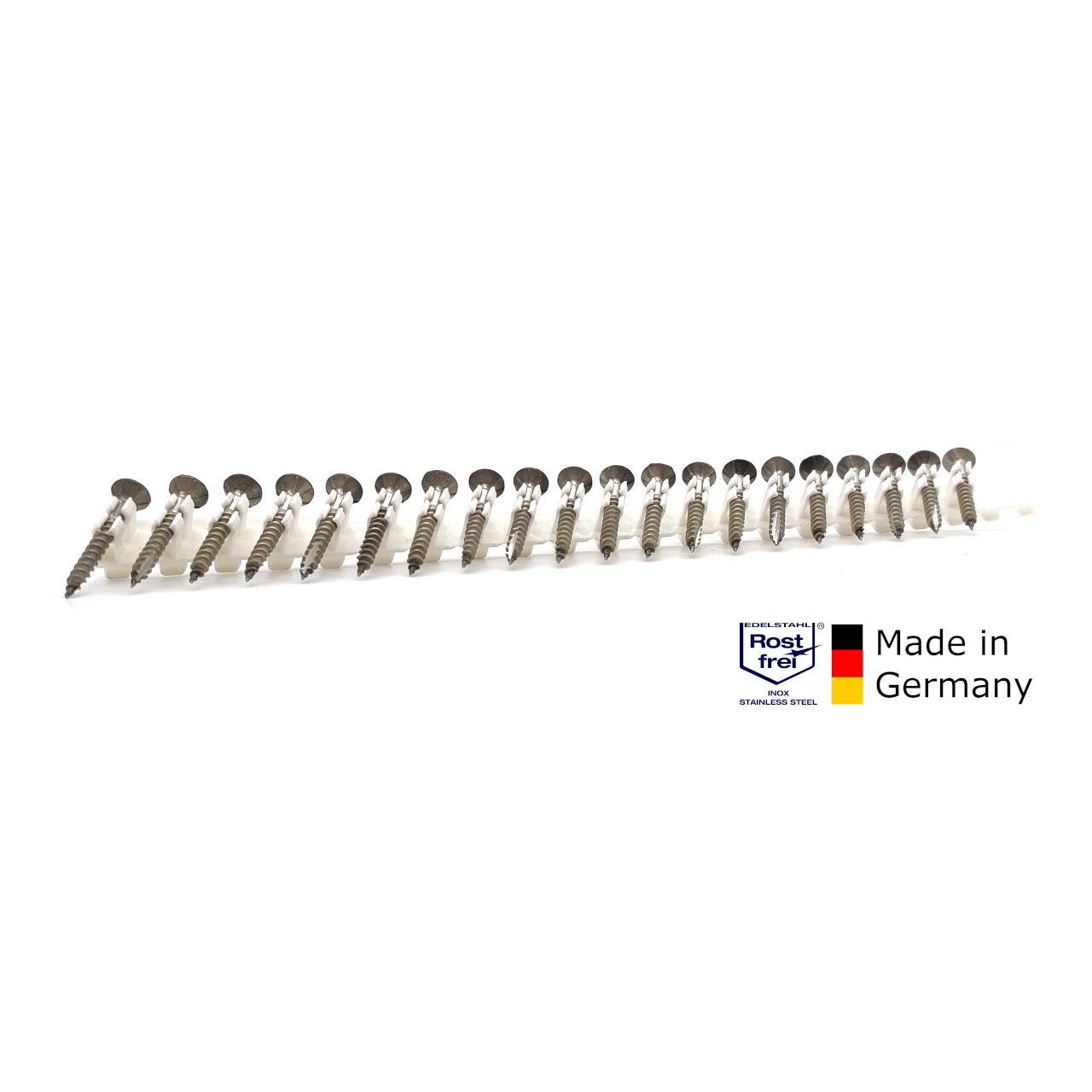 adunox-ONE-S Schieferschrauben | rostfrei A2 | gefärbt RAL 7016 | 4,0x32