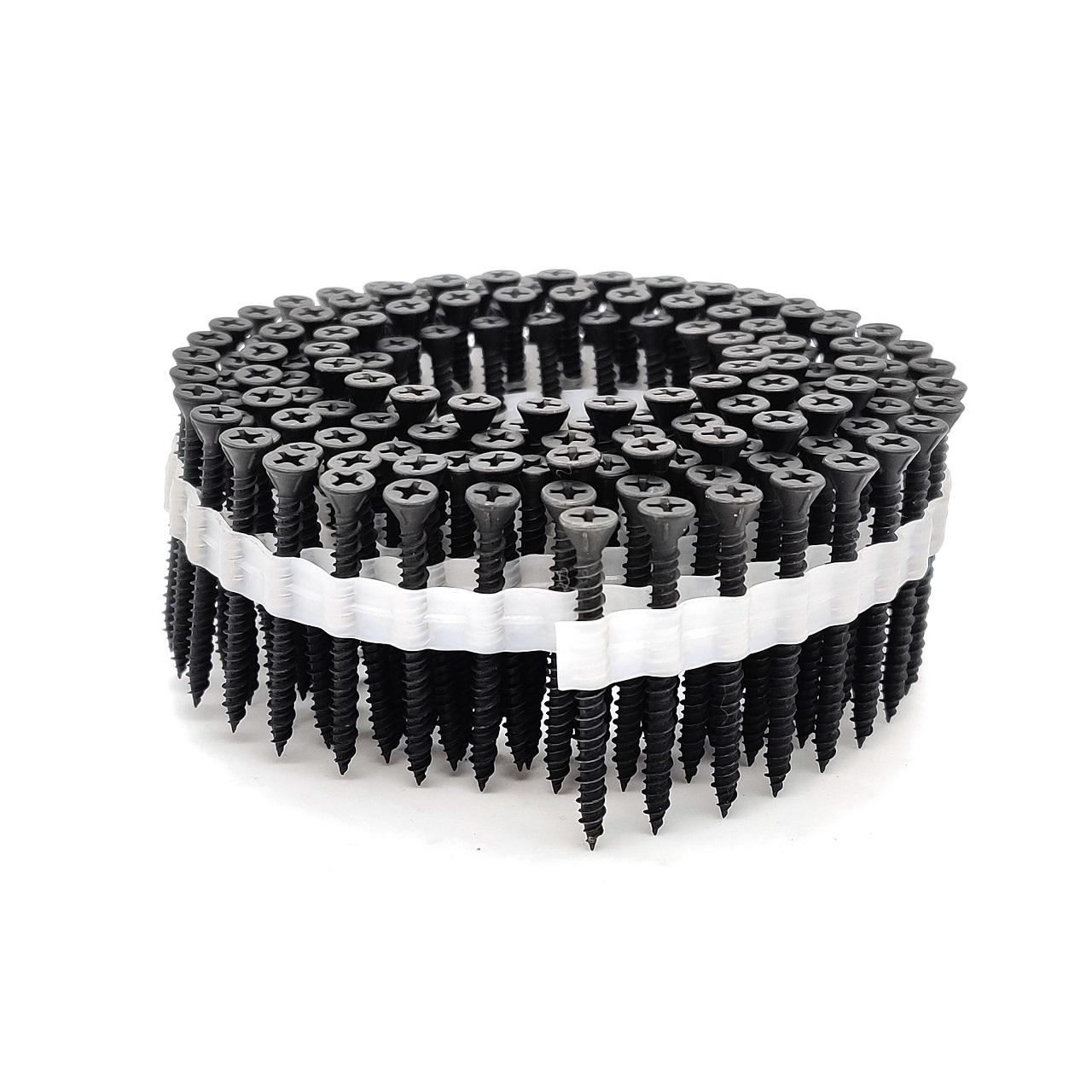 Coil Faserplattenschrauben | phosphatiert | Hi-Lo-Gewinde | 3,9x25